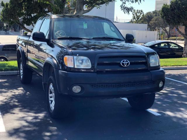 Salvage cars for sale from Copart Van Nuys, CA: 2003 Toyota Tundra ACC