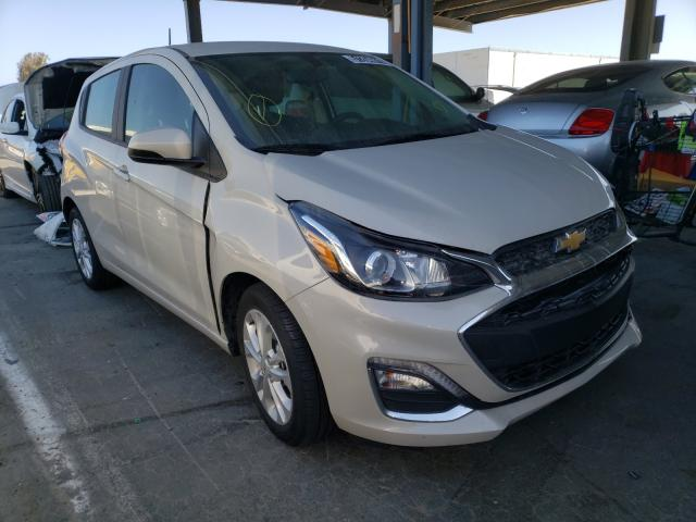 Salvage cars for sale from Copart Hayward, CA: 2020 Chevrolet Spark 1LT