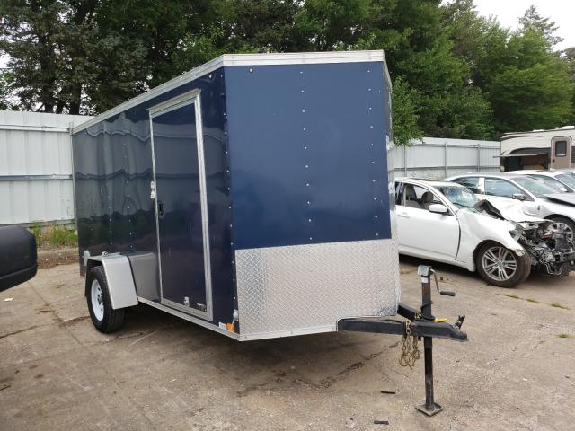Salvage cars for sale from Copart Eldridge, IA: 2018 United Express Trailer