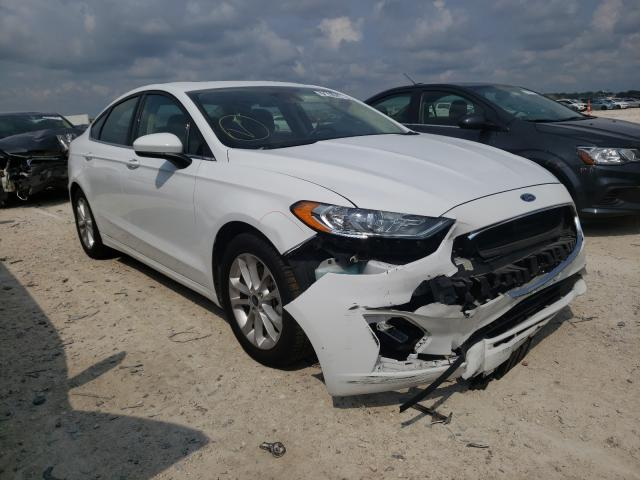 Salvage cars for sale from Copart New Braunfels, TX: 2020 Ford Fusion SE