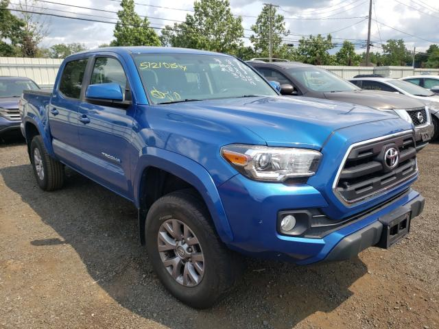 Salvage cars for sale from Copart New Britain, CT: 2016 Toyota Tacoma DOU