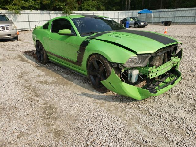 Salvage cars for sale from Copart Knightdale, NC: 2013 Ford Mustang GT