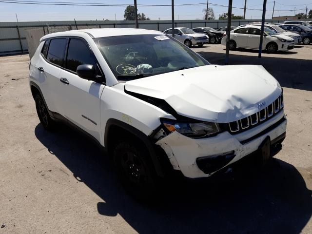 Jeep salvage cars for sale: 2018 Jeep Compass SP