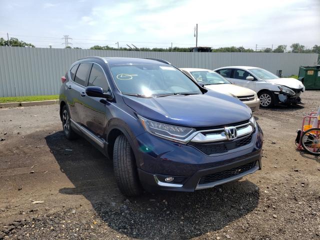 Vehiculos salvage en venta de Copart Glassboro, NJ: 2019 Honda CR-V Touring