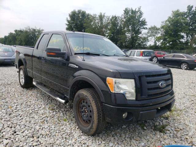 Salvage cars for sale from Copart Cicero, IN: 2010 Ford F150 Super