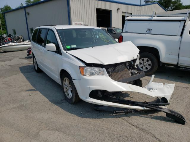 Salvage cars for sale from Copart Albany, NY: 2016 Dodge Grand Caravan