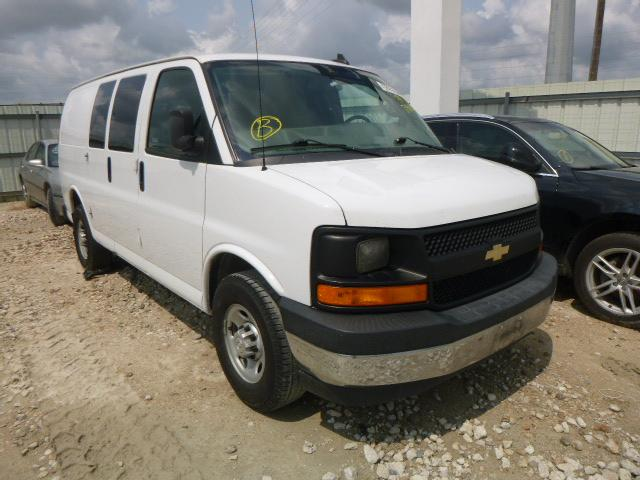 Salvage cars for sale from Copart Haslet, TX: 2017 Chevrolet Express G2
