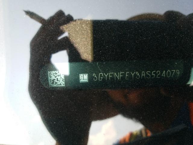 2010 CADILLAC SRX PREMIU 3GYFNFEY3AS524079