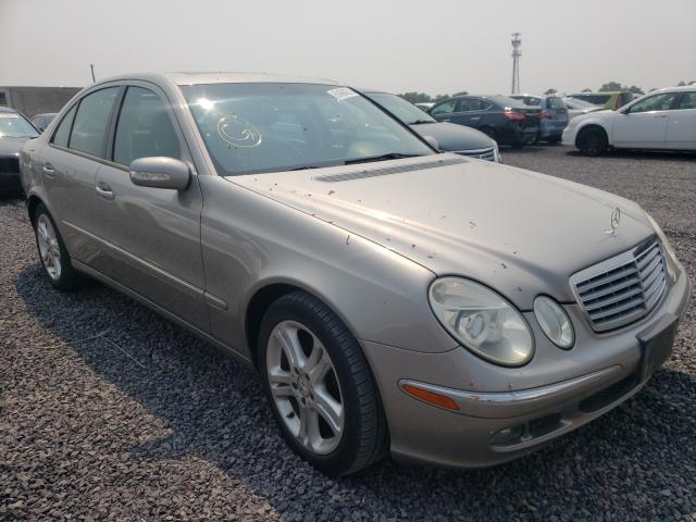 Salvage cars for sale from Copart Fredericksburg, VA: 2005 Mercedes-Benz E 500