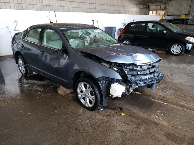 Salvage cars for sale at Candia, NH auction: 2012 Ford Fusion SE