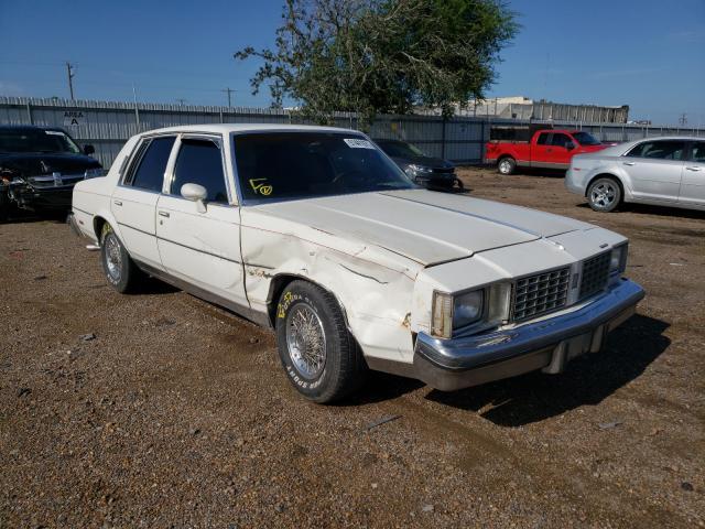 Oldsmobile salvage cars for sale: 1980 Oldsmobile Cutlass