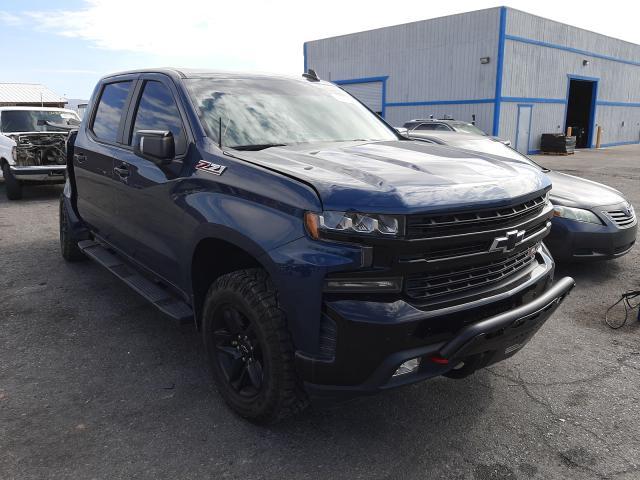 Salvage cars for sale at Las Vegas, NV auction: 2019 Chevrolet Silverado