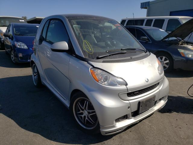 Smart salvage cars for sale: 2009 Smart Fortwo