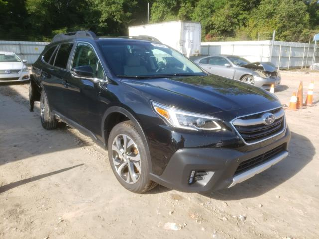 Salvage cars for sale from Copart Midway, FL: 2021 Subaru Outback LI