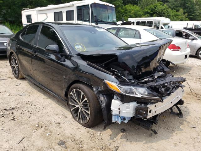 Salvage cars for sale from Copart Mendon, MA: 2019 Toyota Camry L