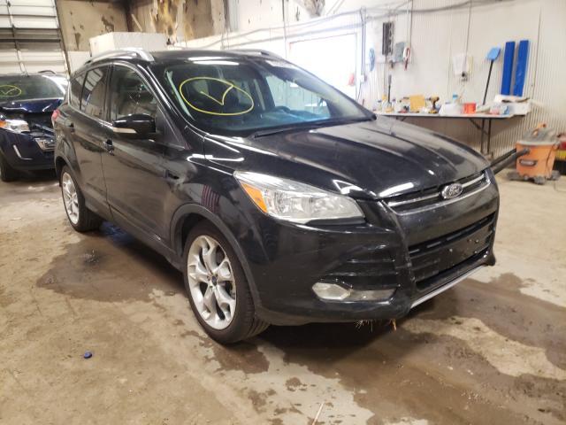2015 Ford Escape Titanium en venta en Casper, WY