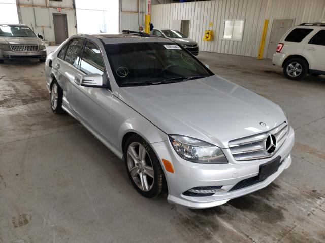 Mercedes-Benz salvage cars for sale: 2011 Mercedes-Benz C 300 4matic