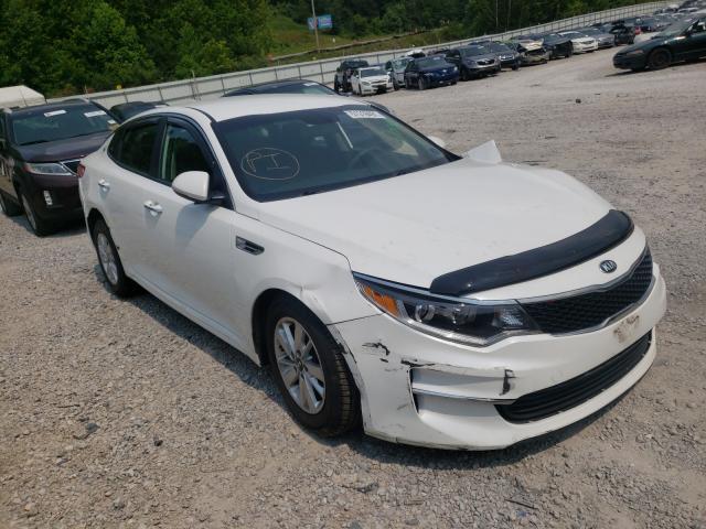 Salvage cars for sale at Hurricane, WV auction: 2016 KIA Optima LX