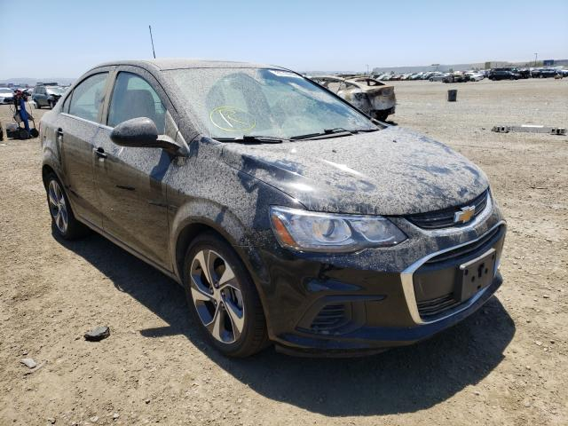 Salvage cars for sale from Copart San Diego, CA: 2019 Chevrolet Sonic Premium