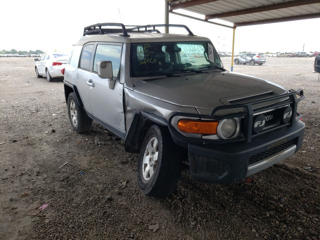 Salvage cars for sale from Copart Houston, TX: 2008 Toyota FJ Cruiser
