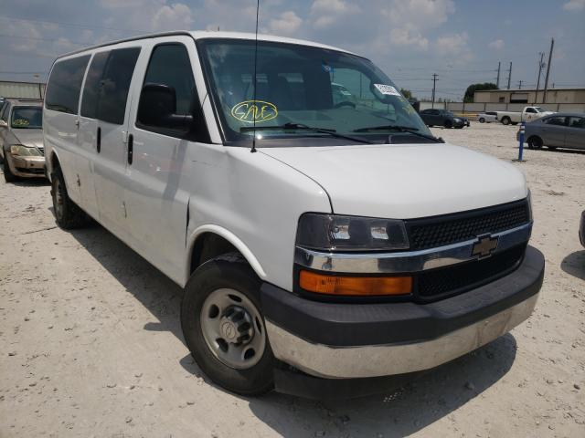 Salvage cars for sale from Copart Haslet, TX: 2017 Chevrolet Express G3