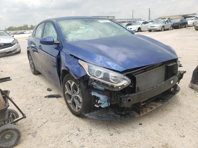 Salvage cars for sale from Copart San Antonio, TX: 2020 KIA Forte FE