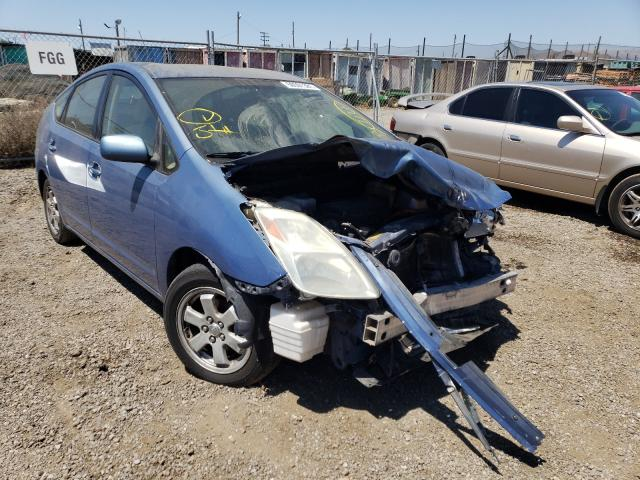 Salvage cars for sale from Copart San Martin, CA: 2004 Toyota Prius