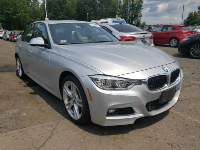 Salvage cars for sale from Copart East Granby, CT: 2018 BMW 340 XI
