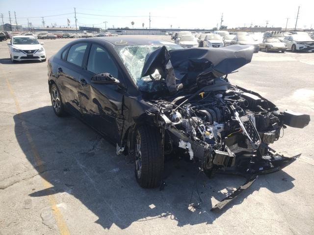 Vehiculos salvage en venta de Copart Sun Valley, CA: 2021 KIA Forte FE