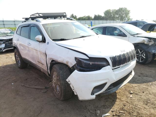 Salvage cars for sale from Copart Portland, MI: 2019 Jeep Cherokee L