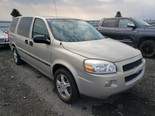 Chevrolet Uplander salvage cars for sale: 2007 Chevrolet Uplander