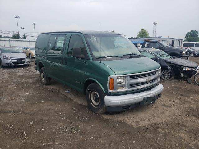 Salvage cars for sale from Copart Finksburg, MD: 2000 Chevrolet Express G2