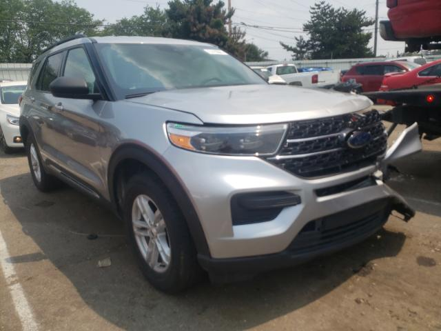 Salvage cars for sale from Copart Moraine, OH: 2020 Ford Explorer X