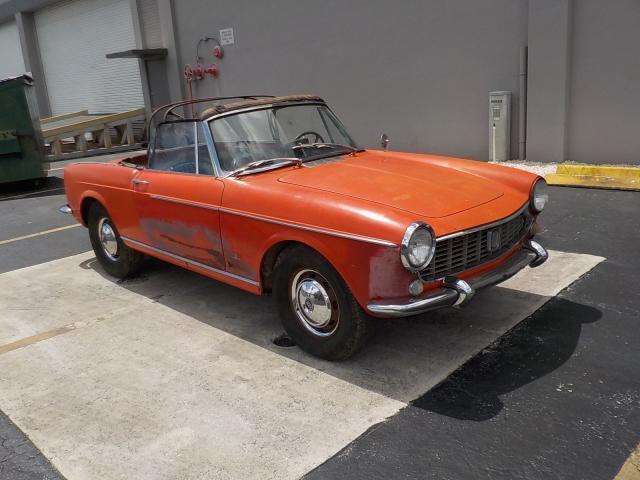 1965 Fiat 2 DR Conv en venta en Opa Locka, FL