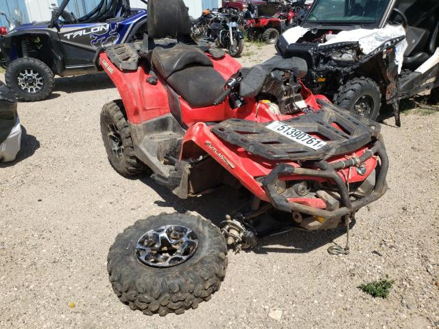Salvage cars for sale from Copart Casper, WY: 2014 Can-Am Outlander