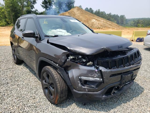 Salvage cars for sale from Copart Concord, NC: 2018 Jeep Compass LA