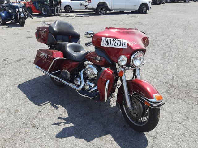 Salvage cars for sale from Copart Las Vegas, NV: 2009 Harley-Davidson Flhtcu
