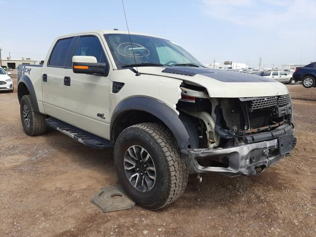 Salvage cars for sale from Copart Phoenix, AZ: 2013 Ford F150 SVT R