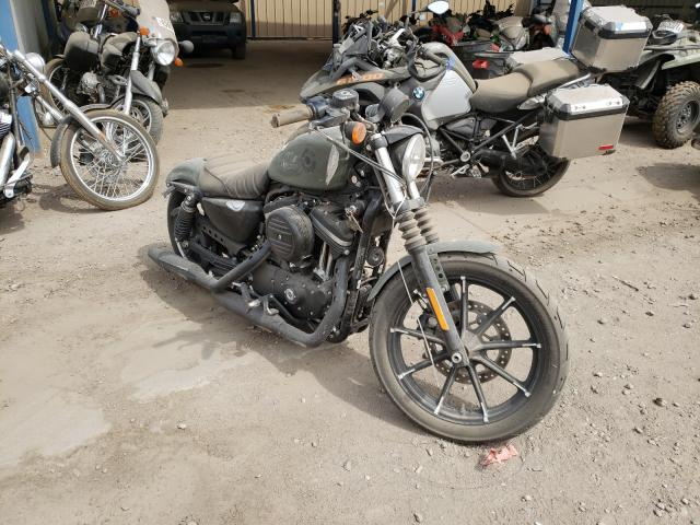 Salvage cars for sale from Copart Brighton, CO: 2021 Harley-Davidson XL883 N