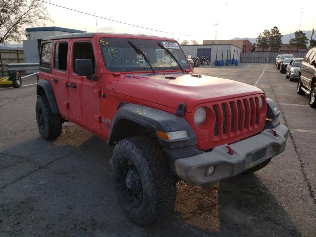 2019 Jeep Wrangler U en venta en Anthony, TX