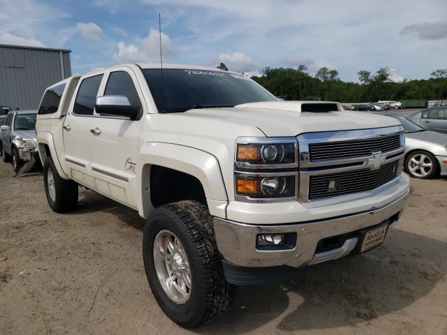 Vehiculos salvage en venta de Copart Jacksonville, FL: 2015 Chevrolet Silverado