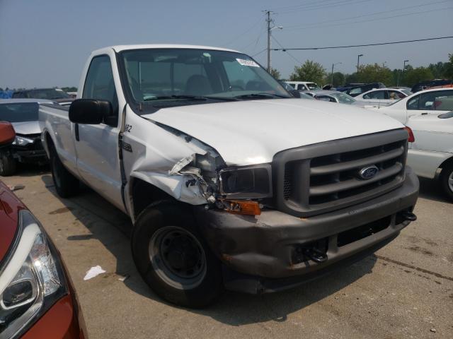 Vehiculos salvage en venta de Copart Louisville, KY: 2001 Ford F250 Super