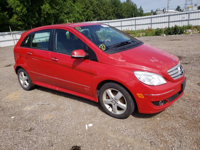 Salvage cars for sale from Copart London, ON: 2008 Mercedes-Benz B200