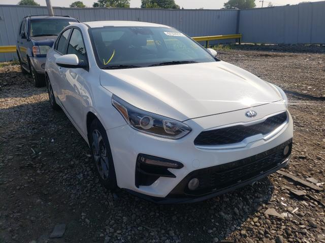 Salvage cars for sale from Copart Cudahy, WI: 2020 KIA Forte FE
