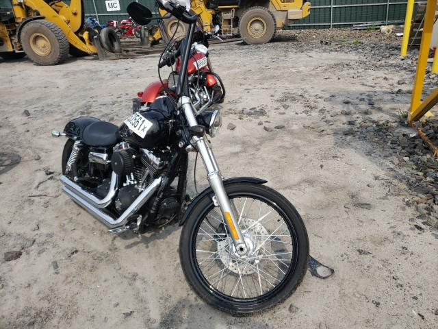 Salvage motorcycles for sale at Duryea, PA auction: 2011 Harley-Davidson Fxdwg