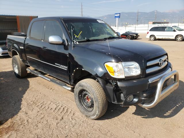 Salvage cars for sale from Copart Colorado Springs, CO: 2006 Toyota Tundra DOU
