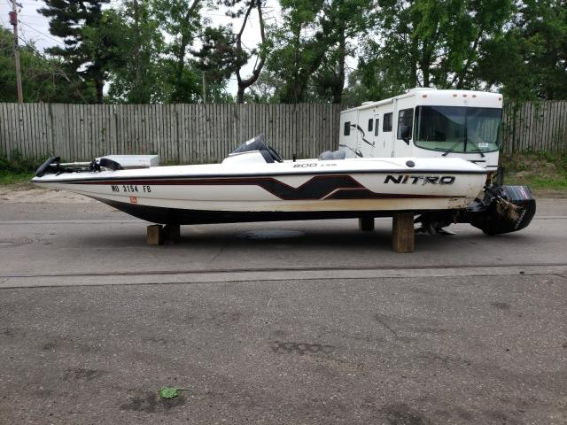 Salvage cars for sale from Copart Ham Lake, MN: 1997 Nito Boat With Trailer