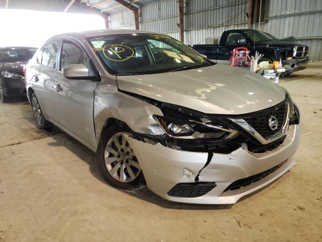 Salvage cars for sale from Copart Greenwell Springs, LA: 2019 Nissan Sentra S