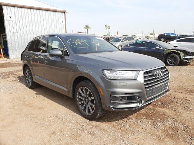 Salvage cars for sale from Copart Phoenix, AZ: 2017 Audi Q7 Premium