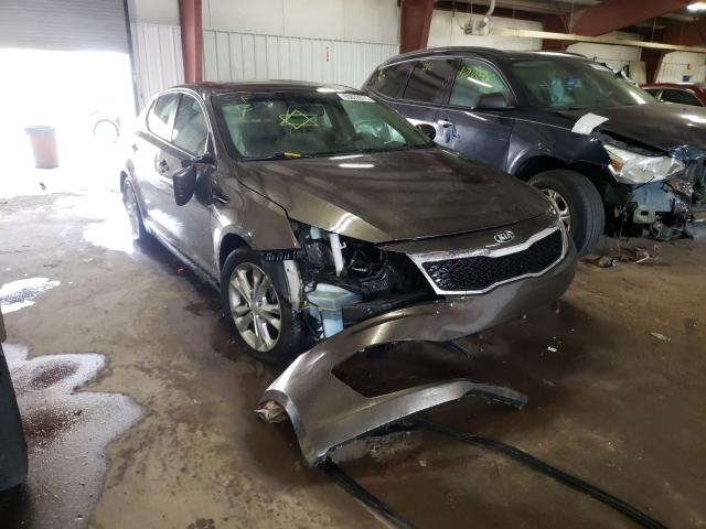 Salvage cars for sale from Copart Lansing, MI: 2013 KIA Optima EX